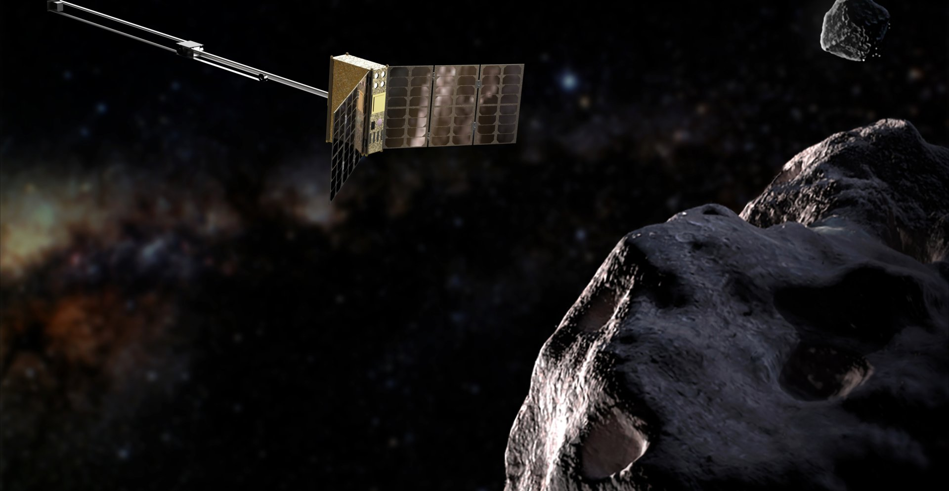 Hera's APEX CubeSat will reveal the stuff that asteroids are
