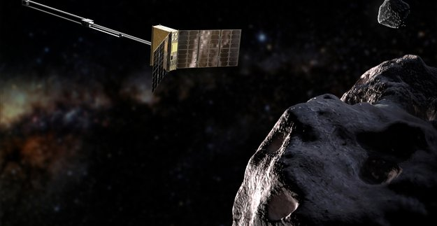 Hera's APEX CubeSat will reveal the stuff that asteroids are made of