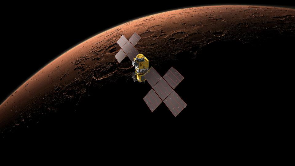 Earth Return Orbiter in Mars orbit