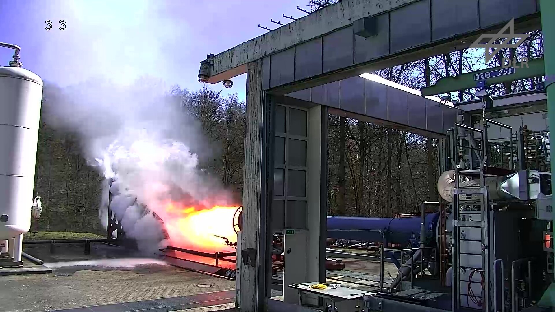 Final hot fire tests of ETID demonstrator