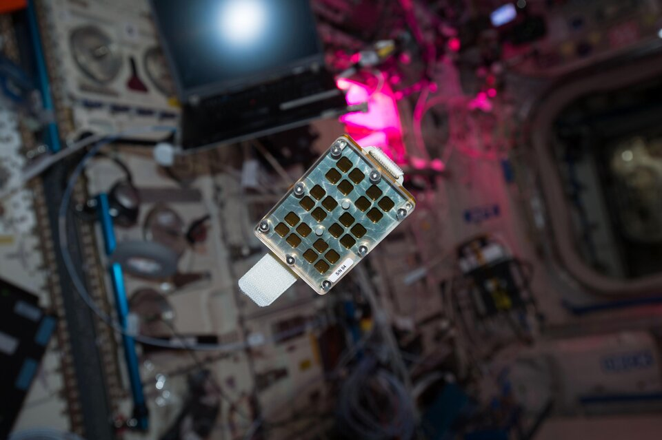 Matiss-2 experiment on the Space Station