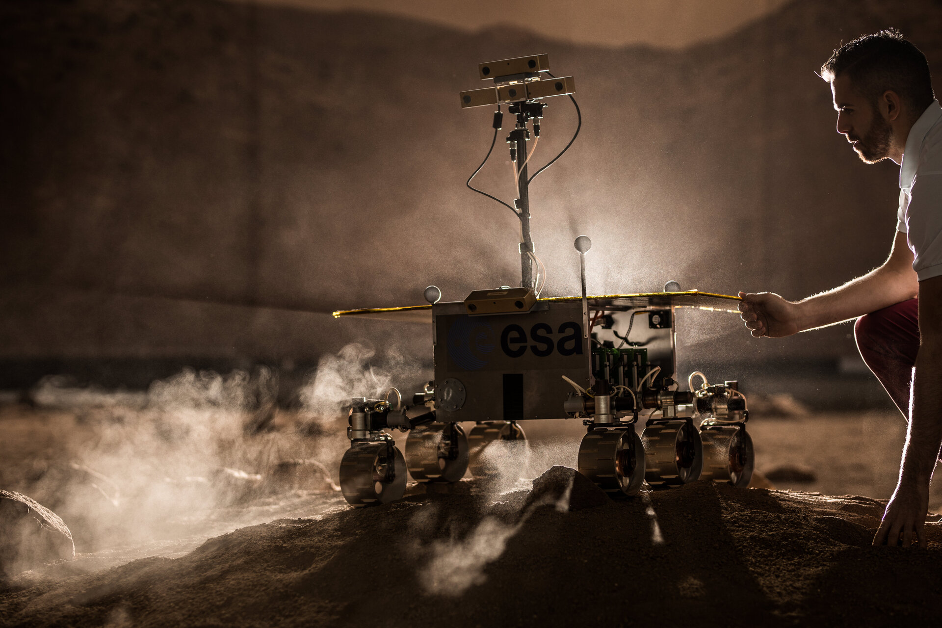 Martian moves under control on Earth