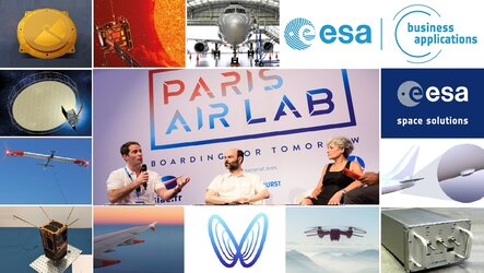 Paris Space Lab: ESA BIC start-ups