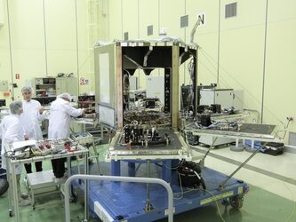 SEOSAT in the cleanroom