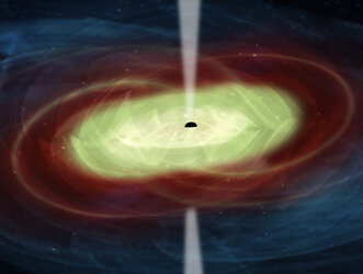 Supermassive black holes after merging