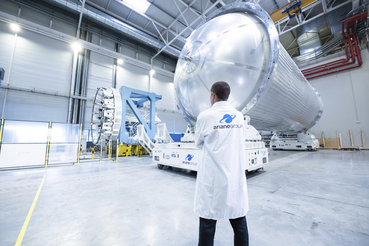 Ariane 6 tank for the core stage