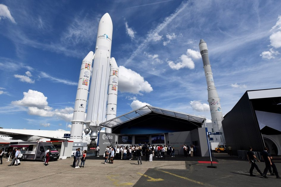 ESA at the 53rd International Le Bourget Airshow in Paris, France