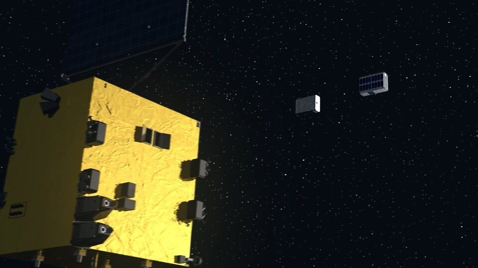 CubeSats deployed for asteroid exploration
