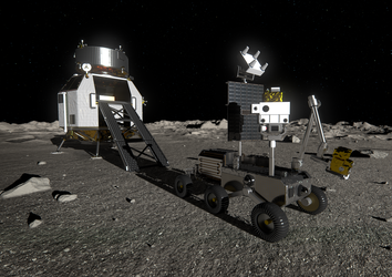 Heracles lander and rover