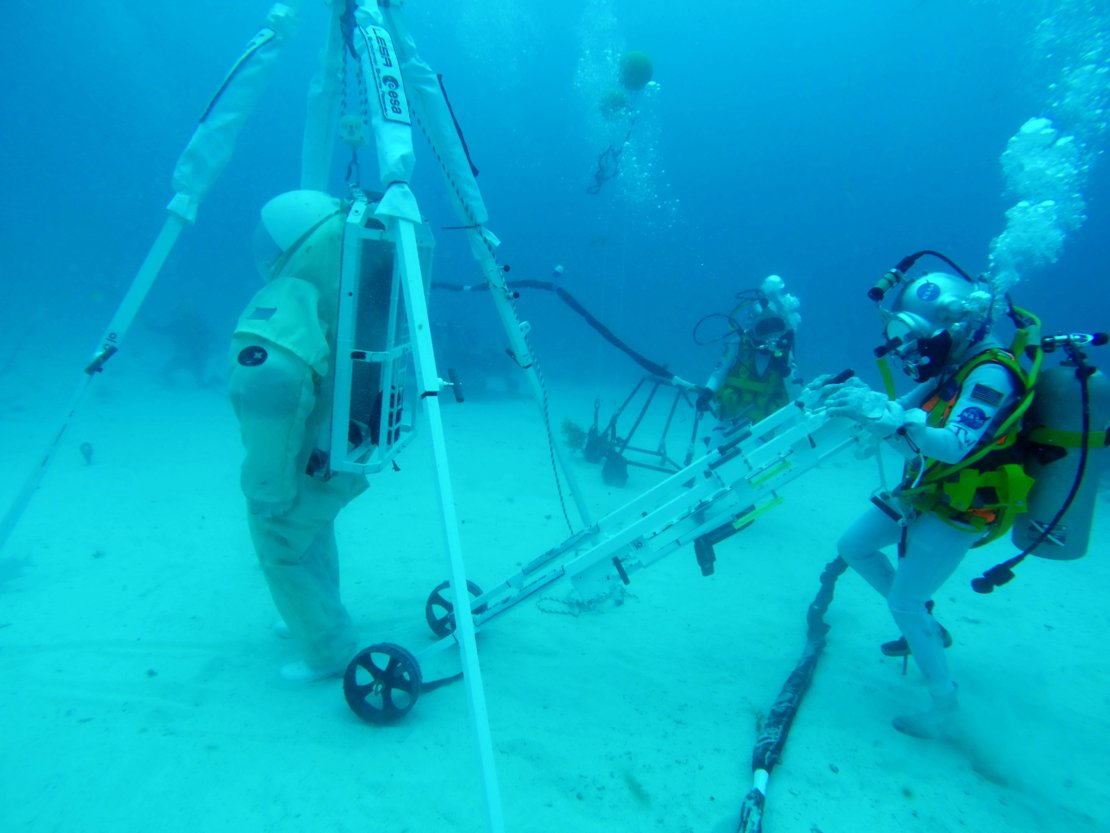 LESA device in operation during NEEMO 23