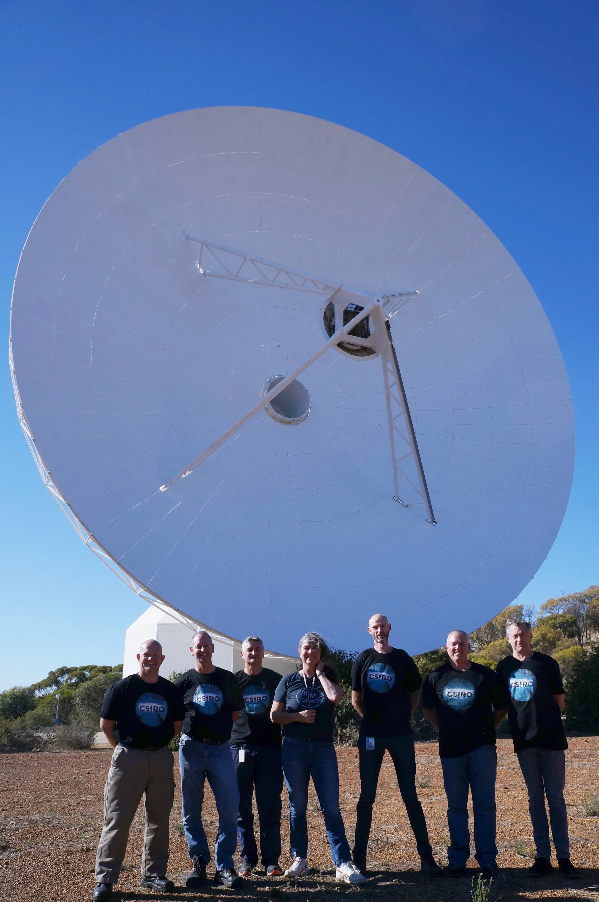 New team for New Norcia deep space antenna