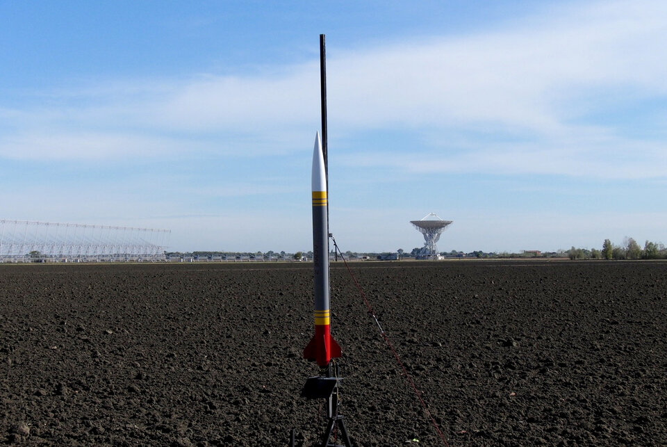 Rocket launch site for CanSat 2019