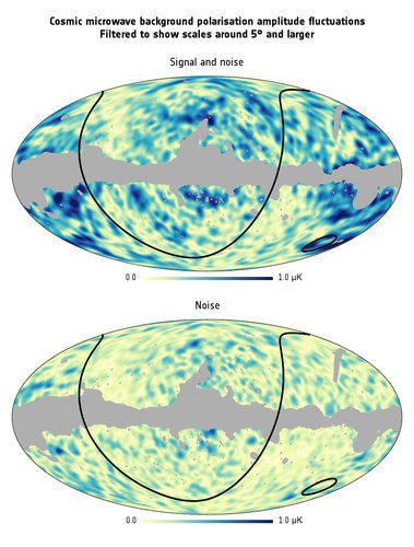 The CMB polarisation on large angular scales