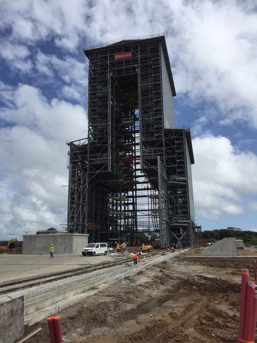 Ariane 6 mobile gantry