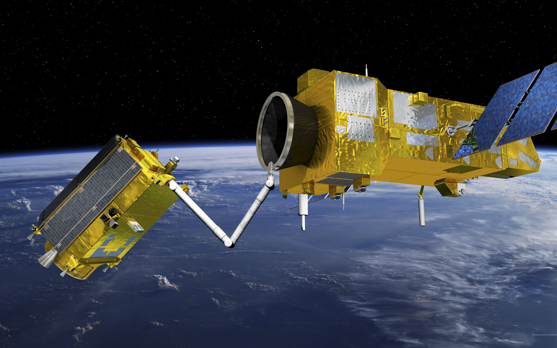 In-Orbit Servicing: Rendezvous And Synchronisation
