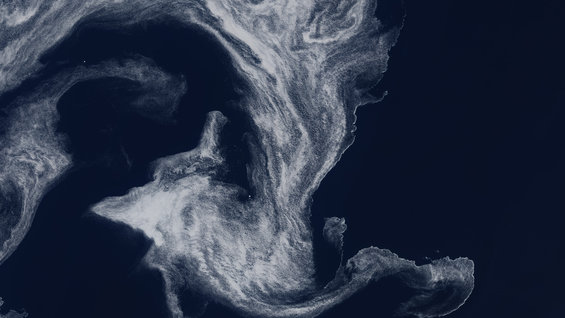 Irminger Sea ice swirl
