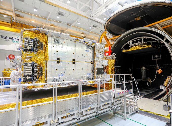 Konnect satellite completes its thermal vacuum tests