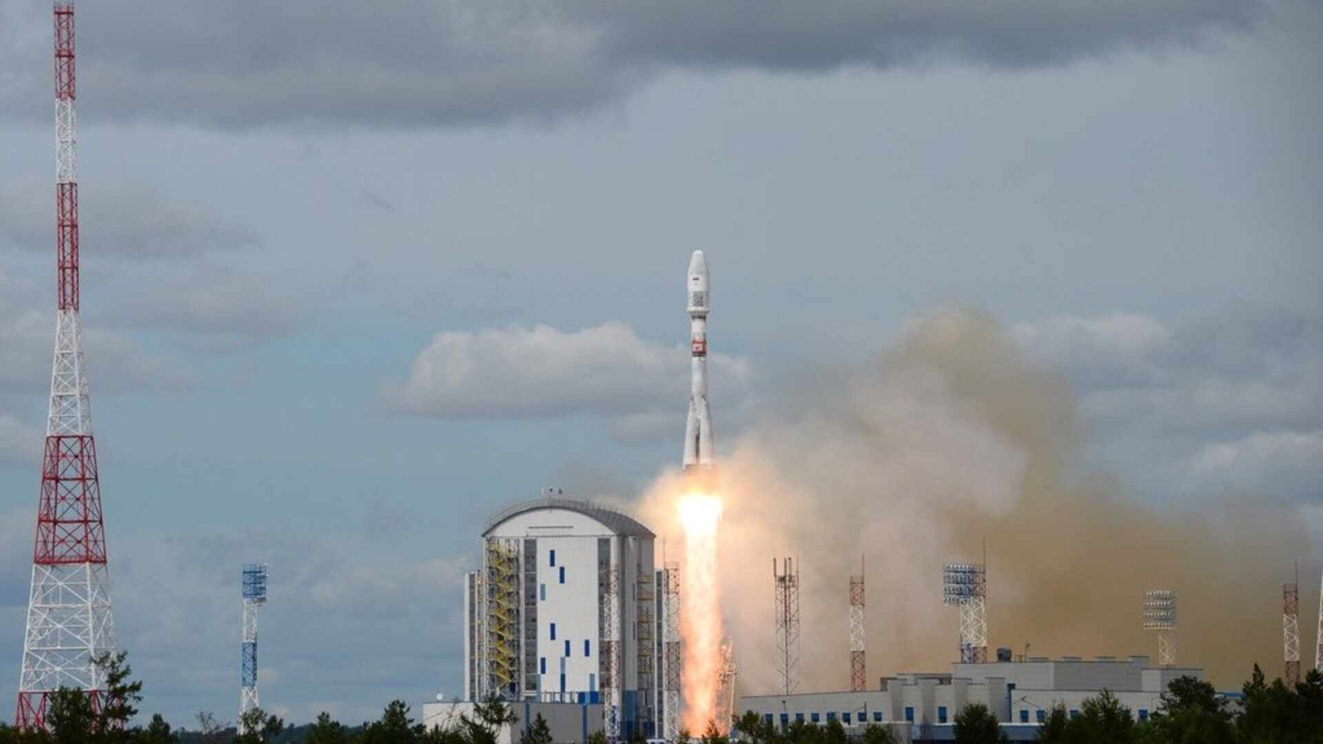 The Pioneer satellites were launched on board a Soyuz