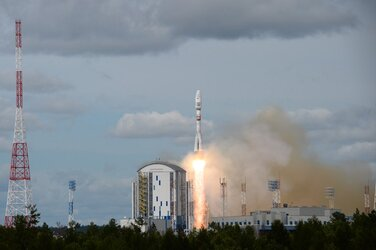 Pioneer satellites launch on board Soyuz