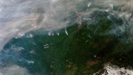 Siberian wildfires