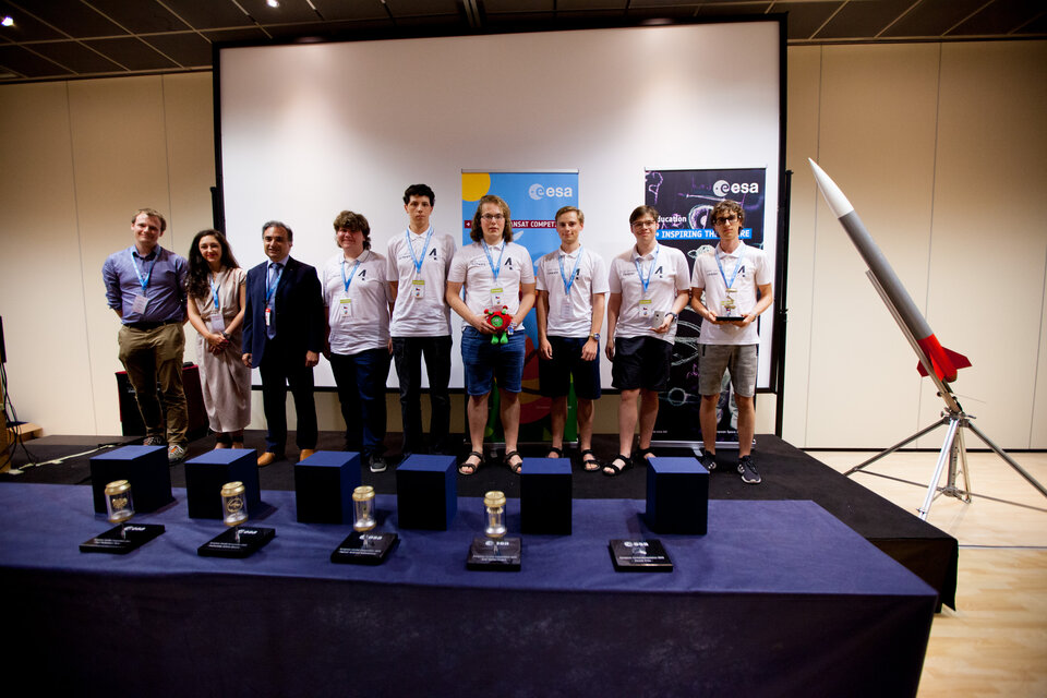 Team Charles 4th from Czech Republic won the Best Outreach award
