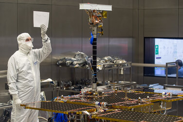ExoMars rover taking shape