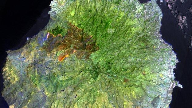 gran canaria wildfire