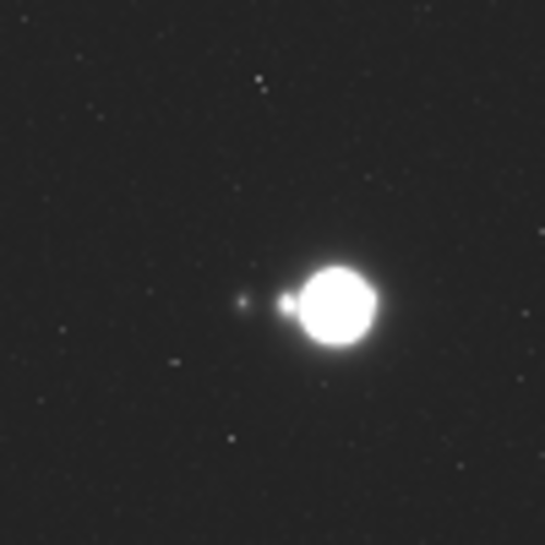 Jupiter system captured in Juice NavCam test