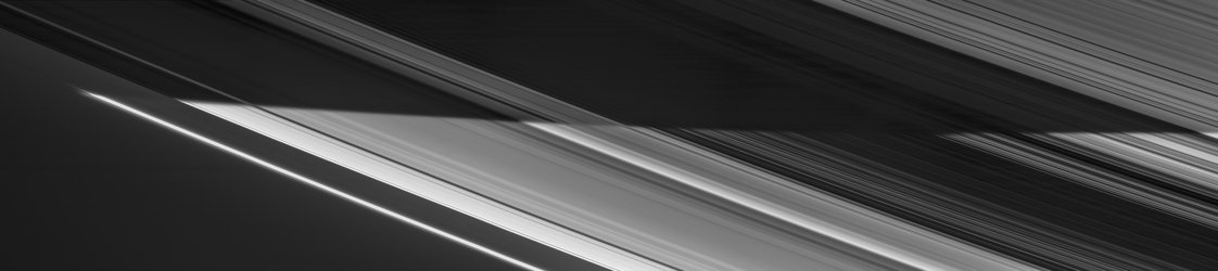 Dividing night from day on Saturn's rings