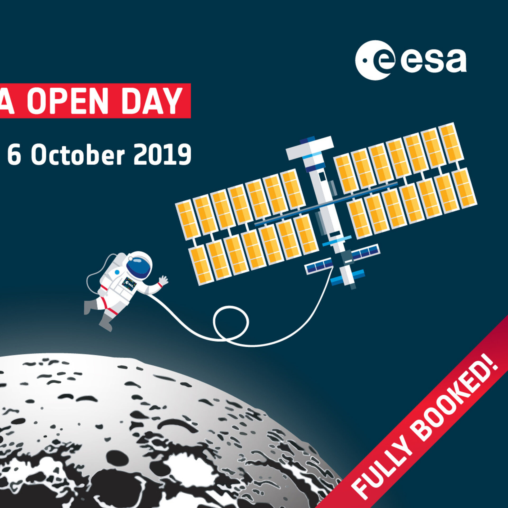 ESA Open Day 2019 - Full Booked