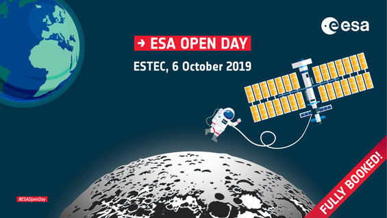 ESA Open Day: Fully booked