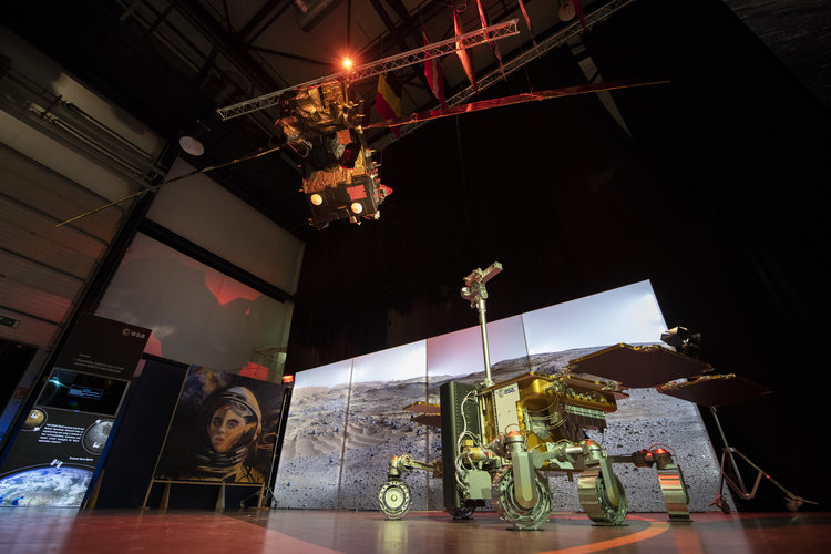 ExoMars TGO and Rover