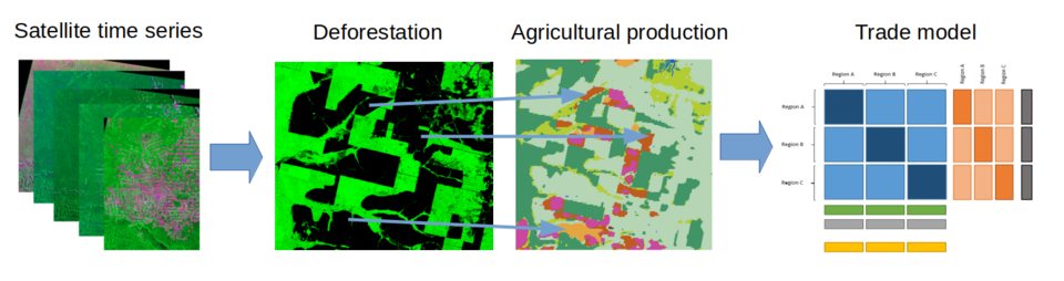 From satellite images to global agricultural trade