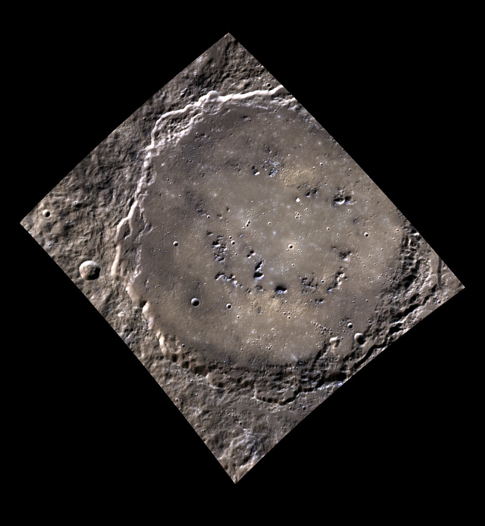 Rustaveli crater on Mercury