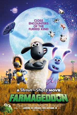 Shaun the Sheep Farmageddon poster