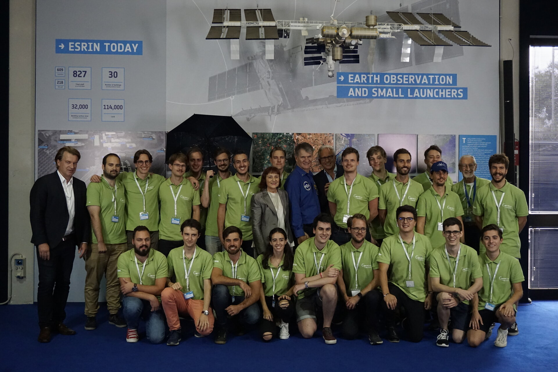 The participants of the 2019 Space App Camp