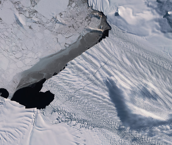 Cracked: Pine Island Glacier