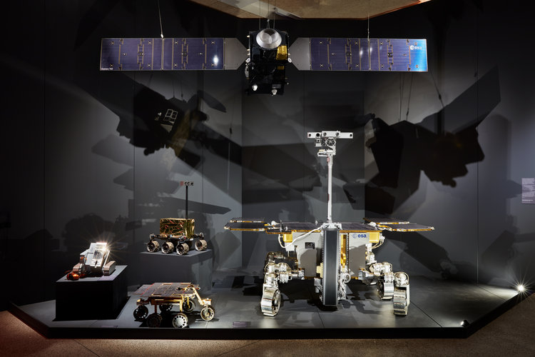 ESA rovers including ExoMars Rosalind Franklin at the Design Museum in London