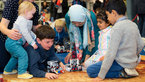 [5/9] Parents and kids play and learn with robotic rovers
