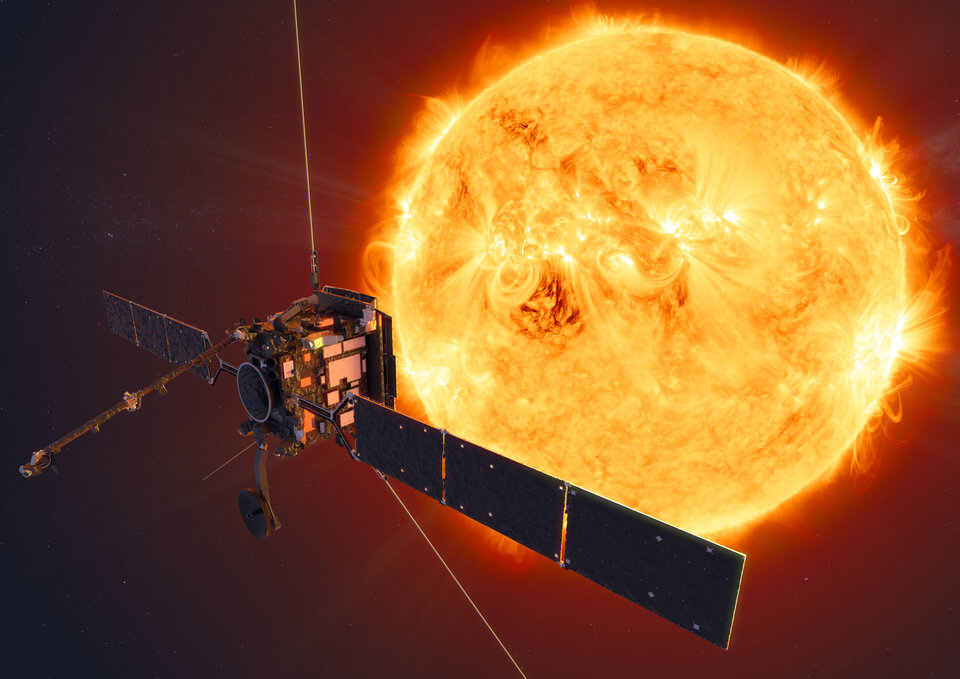 Solar Orbiter resumes instrument health checks