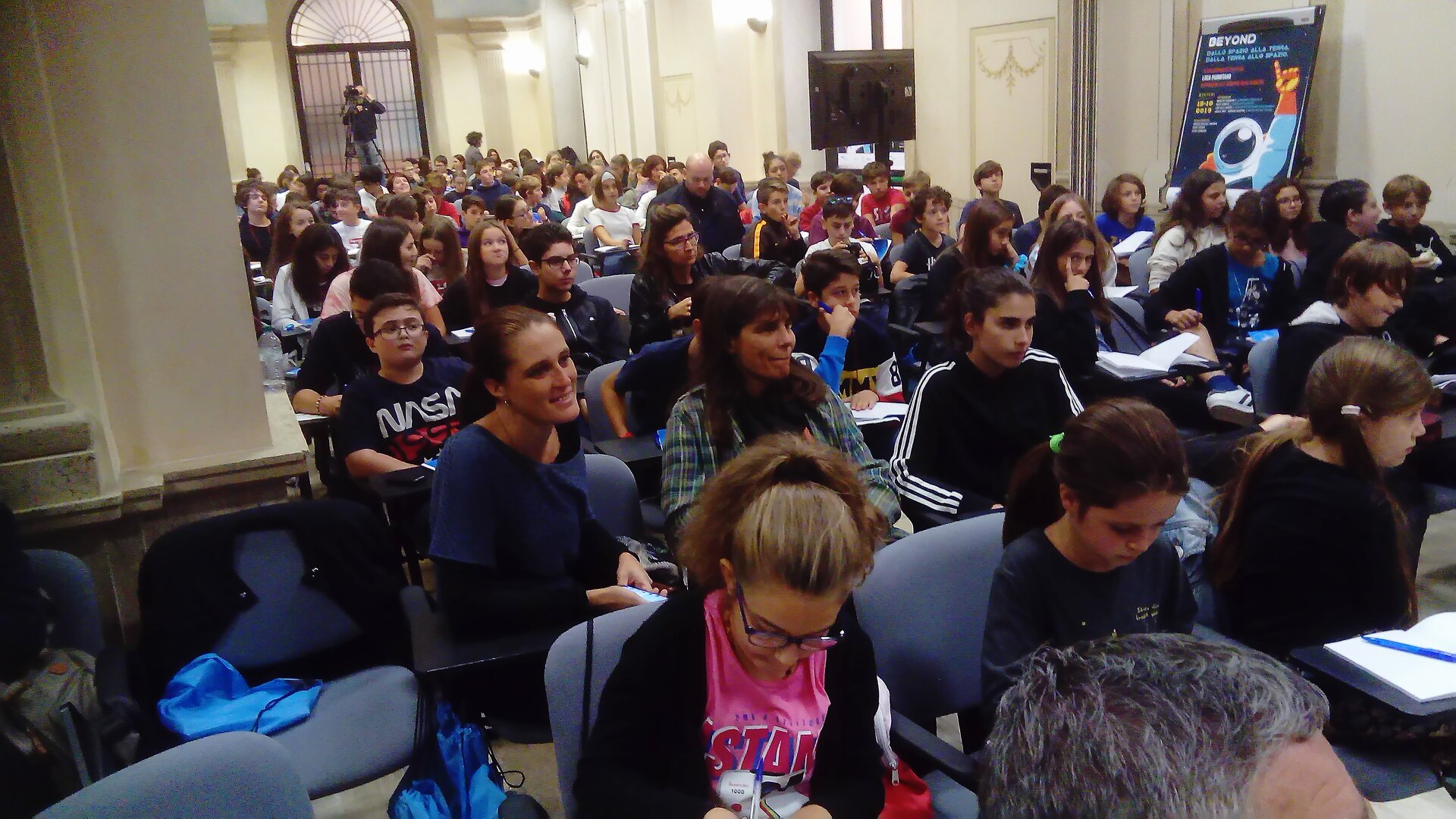Students and teachers in Italy attended the IFC