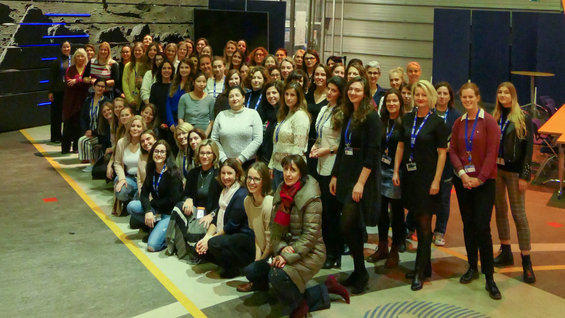 Women of ESA salute first all-female spacewalk