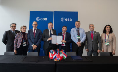 Copernicus Sentinel data agreement with Spain