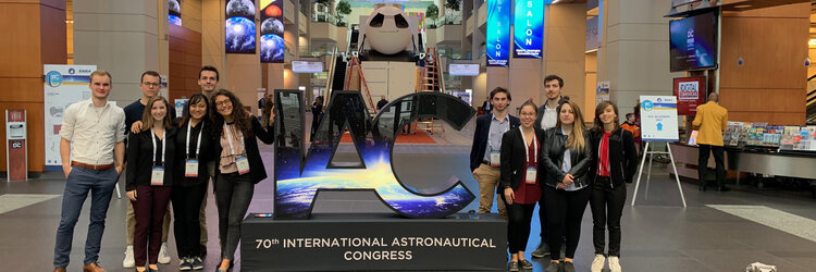 ESA-sponsored students and staff at the IAC