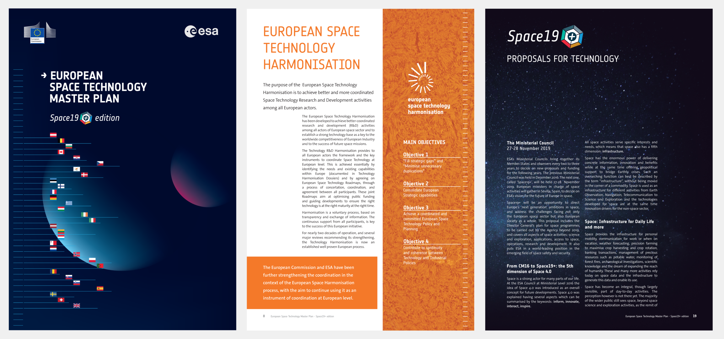 ESTMP 2019 Space 19+ brochure edition