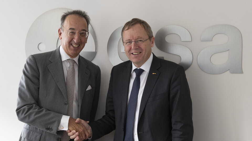 Heads of EDA and ESA