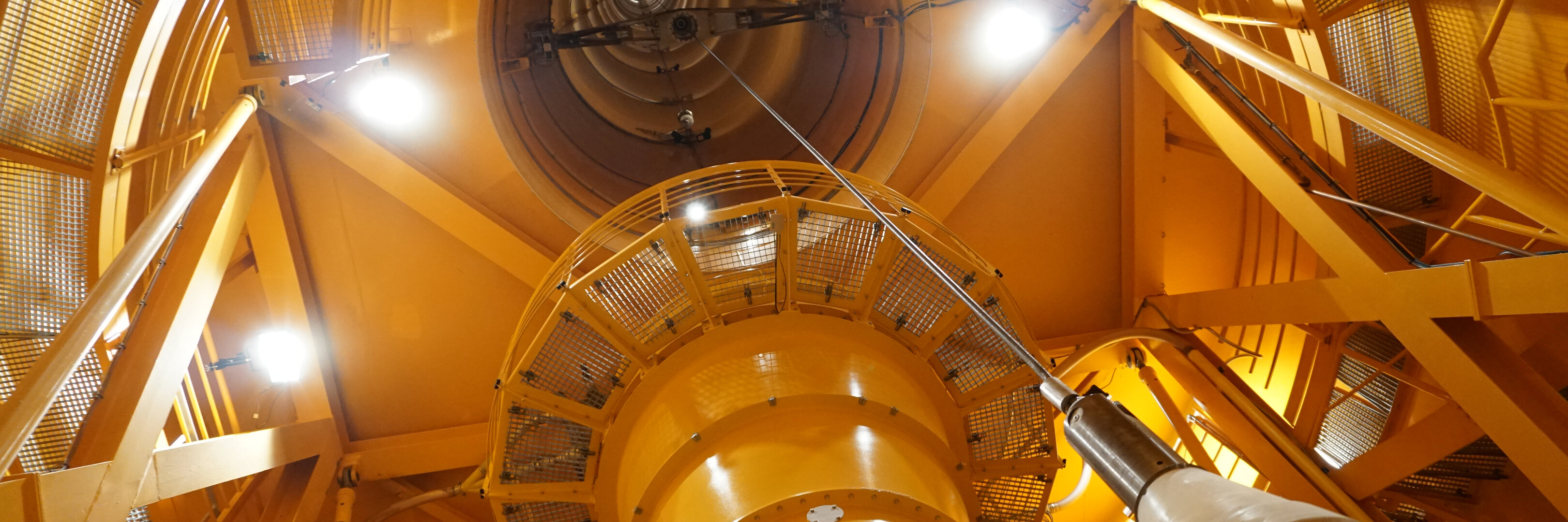 Inside the ZARM drop tower