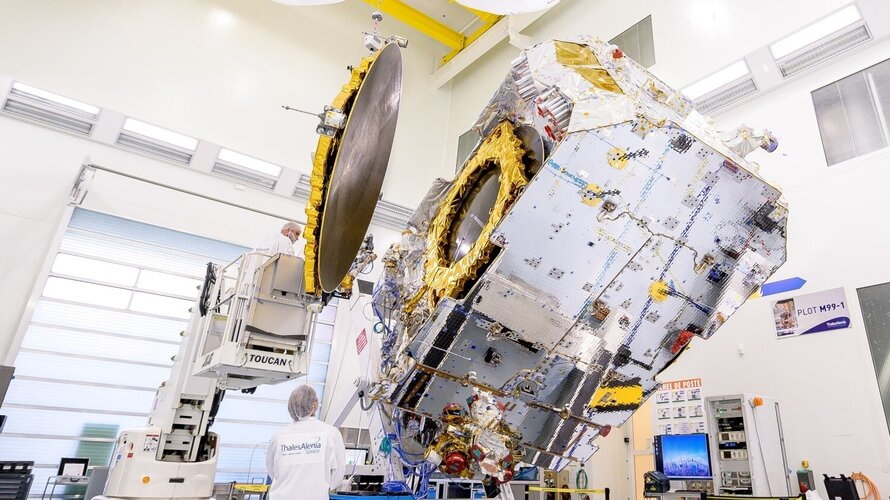 Konnect satellite completes tests and ready to ship
