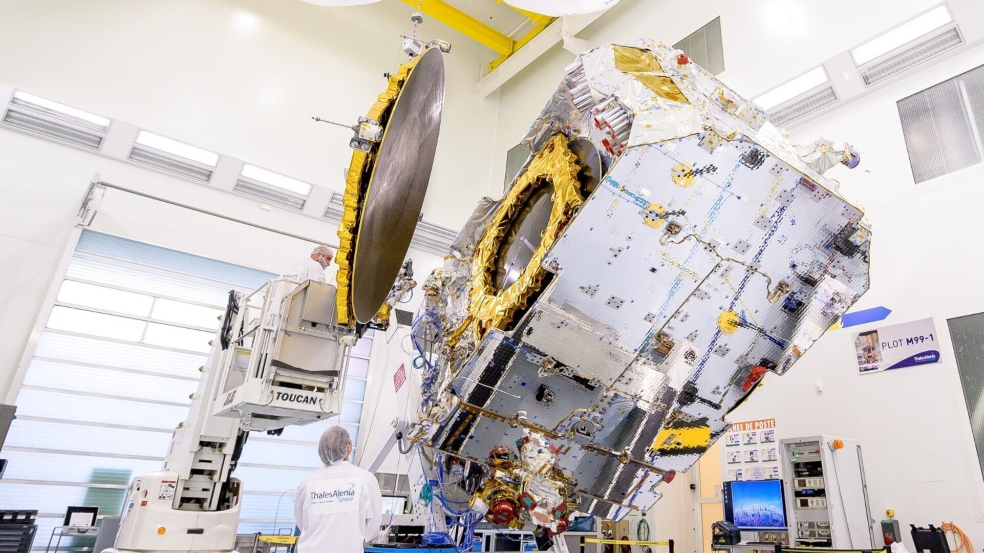 The Konnect satellite built under the Spacebus Neo programme that is generating 15 times the return on investment