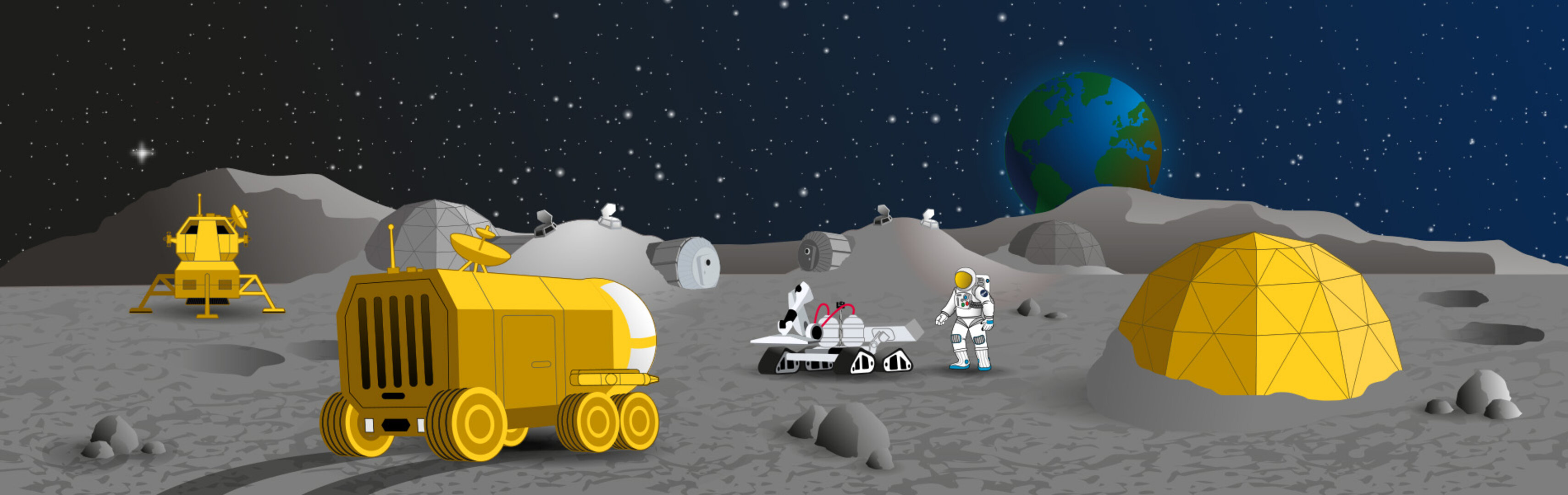 Moon Camp interactive image